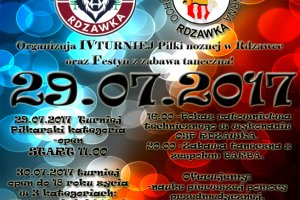 Festyn i turniej piłkarski w Rdzawce