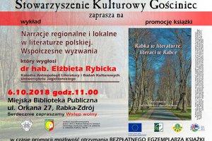 Promocja książki o Rabce w literaturze i literat