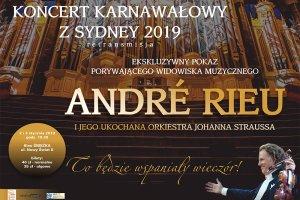 Koncert karnawałowy z Sydney w kinie Śnieżka
