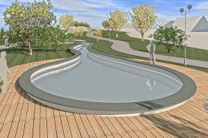 Rozbudowa Parku Zdrojowego w Rabce-Zdroju-zagospod