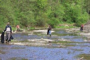 Wiosenne sprzątanie rzek
