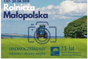 """Konkurs fotograficzny """"Rolnicza Małopolska"""" z"""