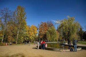 Złota Polska jesień w Parku Zdrojowym 1