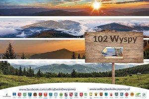 """Zdobądź odznakę """"102 Wyspy"""" Beskidu Wyspowe 1"""