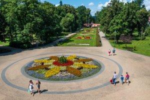 Barwy lata w rabczańskim Parku Zdrojowym 2