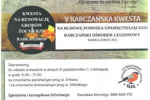 V kwesta na rabczańskich cmentarzach