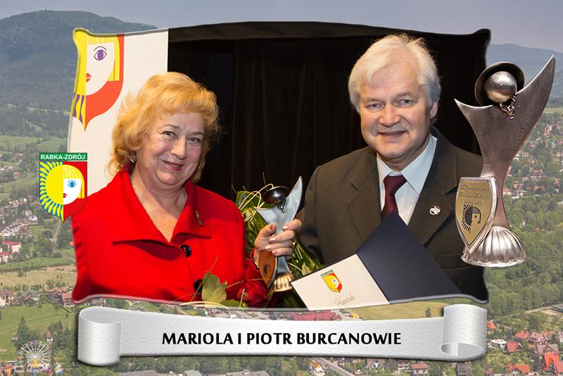 Mariola i Piotr Burcanowie