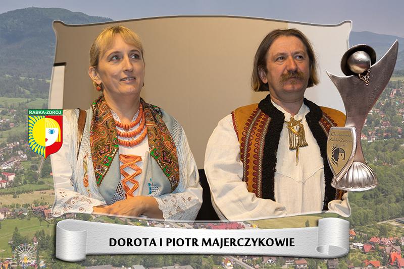 Dorota i Piotr Majerczykowie